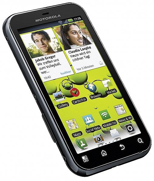 Motorola Defy Plus עברית מלאה - 1