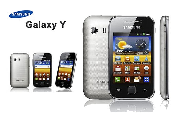Samsung Galaxy Y S5360 - 1