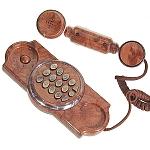 טלפון קלאסי בסגנון עתיק