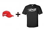 כובע + חולצה rzr