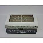 קופסה כפרית לתה