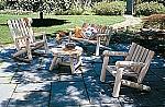 מערכת ישיבה מעץ מלא