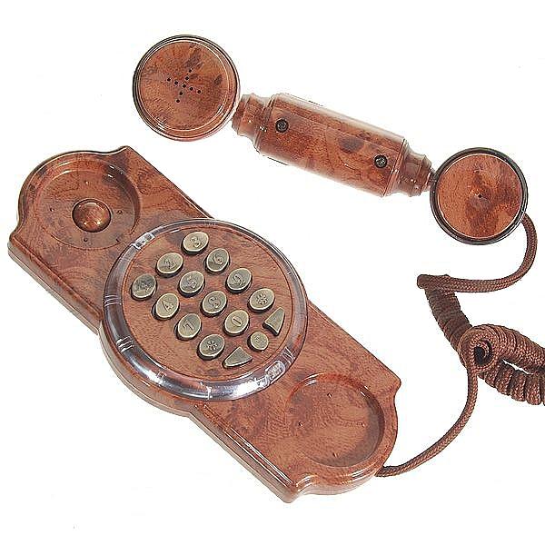 טלפון קלאסי בסגנון עתיק - 1