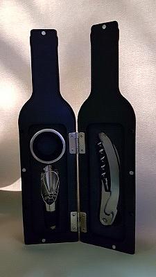 סט 3 אביזרי יין - 2