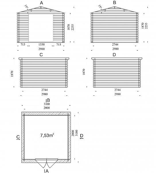 מבנה עץ איכותי - 2