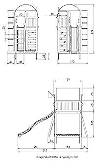 מתקן שעשועים לגינה L - 3