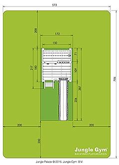מתקן שעשועים לגינה XL - 2
