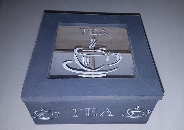 קופסה כפרית לתה - 2