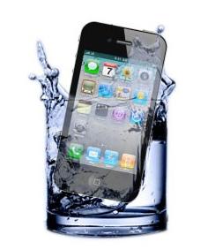 תיקון אייפון שנפל למיים