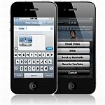 טלפון סלולרי Apple iPhone 4 16GB תצוגה