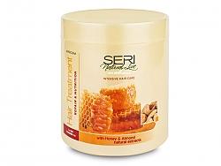 מסכה דבש ותמצית שקדים ליטר SERI - פרקום
