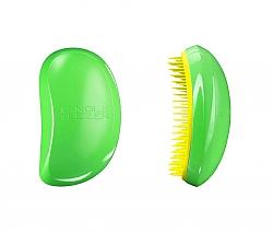 מברשת מתירת קשרים ירוק צהוב - TANGLE TEEZER