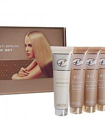 אנטי ברייק סופר מאסק ערכת טיפול עמוק בסיב השערה למראה שיער בריא, מבריק וחזק יותר.