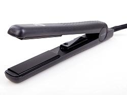 מחליק שיער שחור +סרום מתנה WETLINE