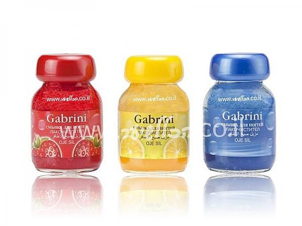 מסיר לק על בסיס שמן ריחני-GABRINI - 1