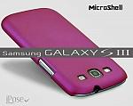 כיסוי MicroShell לסמסונג גלקסי S3 בצבע סגול ורוד