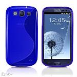 כיסוי SwAve איכותי לסמסונג גלקסי 3 בצבע כחול
