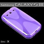 כיסוי מעוצב iPose-X לסמסונג גלקסי 3 בצבע סגול