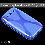 כיסוי מעוצב iPose-X לסמסונג גלקסי S3 בצבע כחול