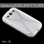 כיסוי מעוצב iPose-X לסמסונג גלקסי S3 בצבע שקוף