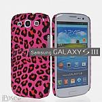 כיסוי לגלקסי 3 | מנומר Samsung Glaxy S 3 בצבע ורוד