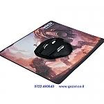 2.4GHZ Wireless Control Adjustable DPI 800/1200/1600 Gaming Mouse+משטח עכבר תואם  של גיימרים תואם