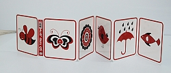 ספרי עגלה- אדום, שחור ולבן