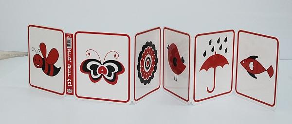 ספרי עגלה- אדום, שחור ולבן - 1