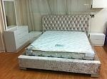 מיטה מרופדת דגם גורגיו