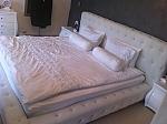מיטה מרופדת דגם מעיין