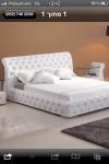 מיטה מרופדת דגם קפיטונג