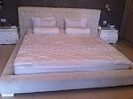 מיטה מרופדת דגם קריסטל