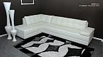 מערכת ישיבה בריפוד דמוי עור איכותי דגם ברצלונה