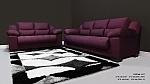 מערכת ישיבה לסלון 2+3  דגם אורלנדו