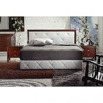 מיטה מעץ מייפל איכותי דגם מיטה 4