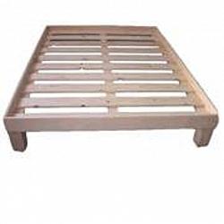 בסיס עץ למיטה קינג 2/2+מסגרת