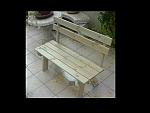 ספסל עץ-650ש'ח