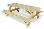 שולחן עץ לגינה-900 ש''ח