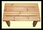 שולחן עץ לגינה דגם זולה