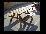 שולחן פיקניק(צביעה כפולה)