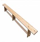 ספסל עץ לאולם ספורט/לגינה