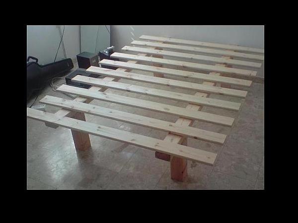בסיס מיטה מעץ - 1