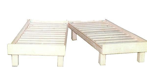 מיטה יהודית מעץ מלא - 1