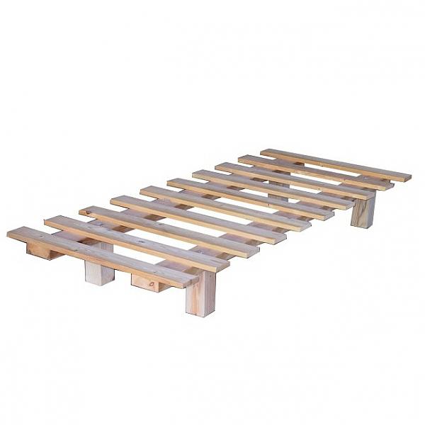מיטת יחיד מעץ מלא - 1