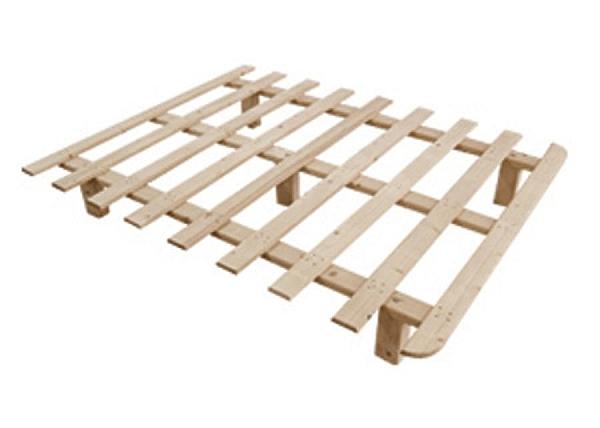 בסיס עץ למיטה קינג סייז - 1