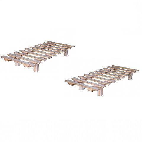 מיטה יהודית מעץ מלא - 3