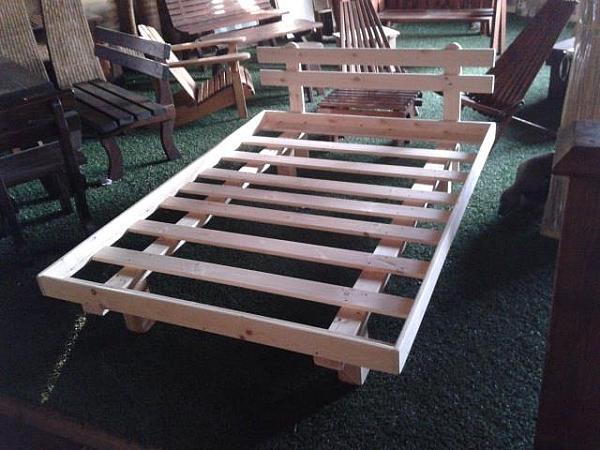 מיטה זוגית מעץ+מסגרת-ראש מיטה במבצע!!! - 5