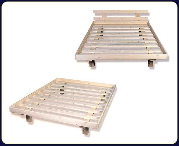 מיטה זוגית מעץ+מסגרת-ראש מיטה במבצע!!! - 7