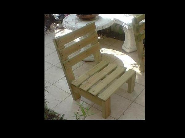 ספסל עץ נמוך לגינה/לבית-500ש