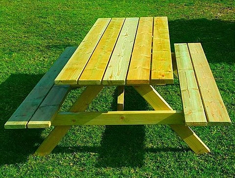 שולחן פיקניק איכותי במיוחד - 1